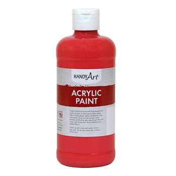 Acrylic Paint 16 Oz Phthalo Red, RPC101030