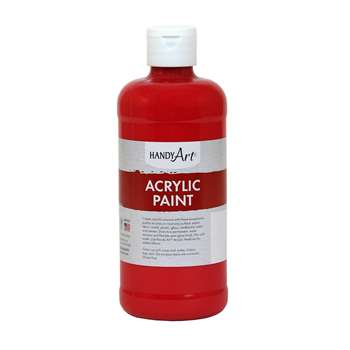 Acrylic Paint 16 Oz Brite Red, RPC101040