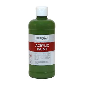 Acrylic Paint 16 Oz Green Oxide, RPC101045