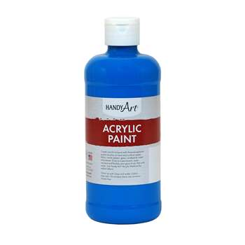 Acrylic Paint 16 Oz Cobalt Blue, RPC101055