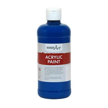 Acrylic Paint 16 Oz Ultra Blue, RPC101065