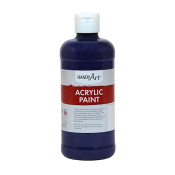 Acrylic Paint 16 Oz Violet, RPC101075
