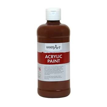 Acrylic Paint 16 Oz Burnt Sienna, RPC101085