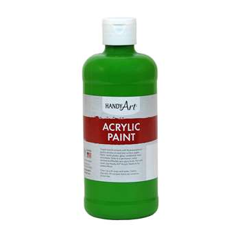 Acrylic Paint 16 Oz Light Green, RPC101110
