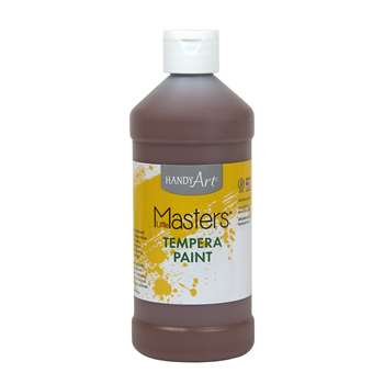 Little Masters Brown 16Oz Tempera Paint By Rock Paint / Handy Art