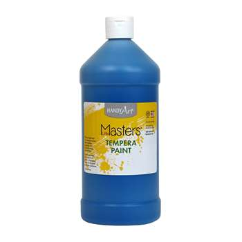 Little Masters Blue 32Oz Tempera Paint By Rock Paint / Handy Art