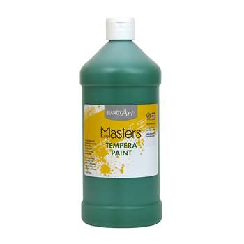 Little Masters Green 32Oz Tempera Paint By Rock Paint / Handy Art