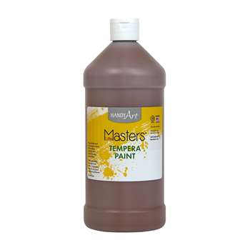 Little Masters Brown 32Oz Tempera Paint By Rock Paint / Handy Art