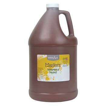 Little Masters Brown 128Oz Tempera Paint By Rock Paint / Handy Art