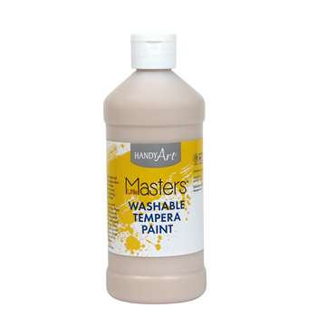 Little Masters Peach 16Oz Washable Paint By Rock Paint / Handy Art