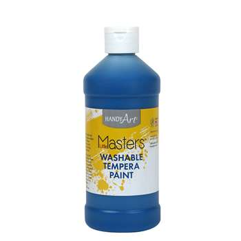 Little Masters Blue 16Oz Washable Paint By Rock Paint / Handy Art