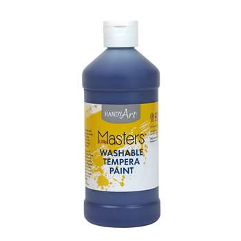 Little Masters Violet 16Oz Washable Paint By Rock Paint / Handy Art