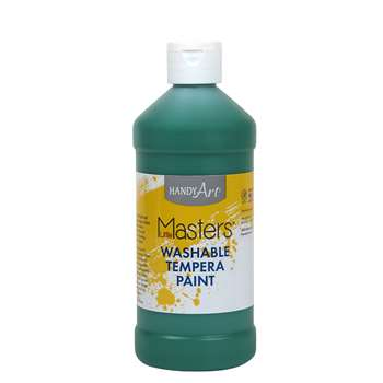 Little Masters Green 16Oz Washable Paint By Rock Paint / Handy Art
