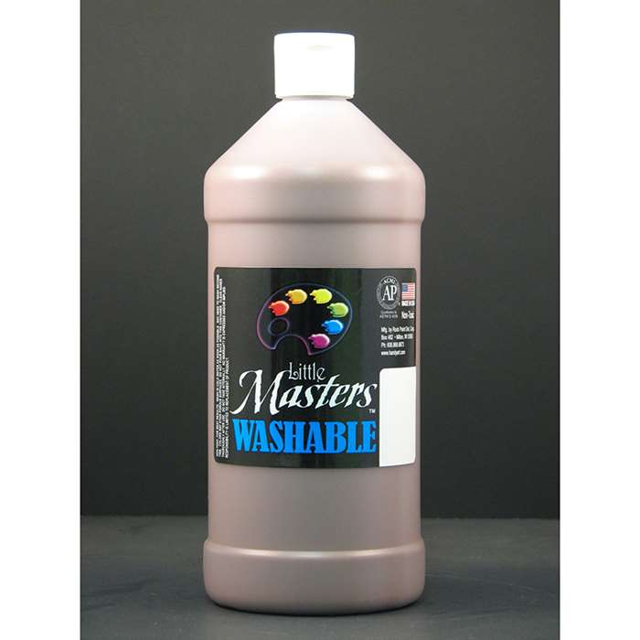 Little Masters Brown 32Oz Washable Paint, RPC213750