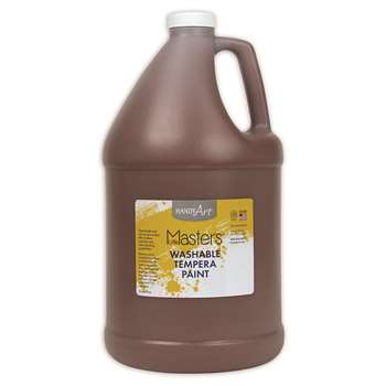 Little Masters Brown 128Oz Washable Paint By Rock Paint / Handy Art