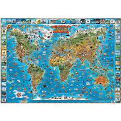 Childrens Map Of The World, RWPDM001