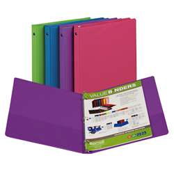 Fashion Color Binder 1/2In Capacity By Samsill