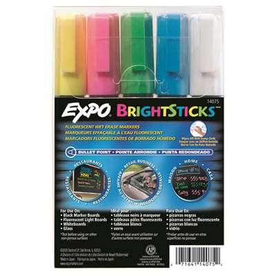 Expo Bright Sticks 5 Set By Sanford Lp