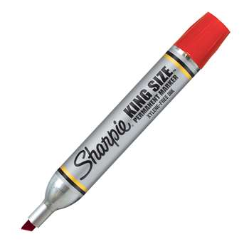 Sharpie King Size Permanent Marker Red By Newell
