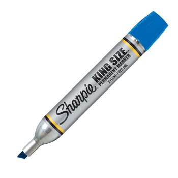 Sharpie King Size Permanent Marker Blue By Newell