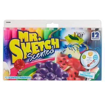 Mr Sketch Scented Chisel 12Ct, SAN1905069