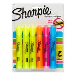 Sharpie Tank 6 Count Asst Carded By Newell