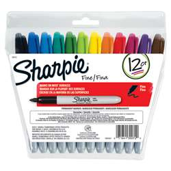 Sanford Sharpie Fine Point 12-Color Set By Newell