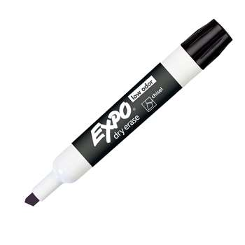 Expo 2 Low Odor Dry Erase Marker Chisel Tip Black By Newell