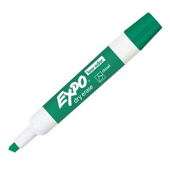 Expo 2 Low Odor Dry Erase Marker Chisel Tip Green By Newell