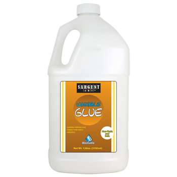 Gallon Sargent School Glue Washable By Sargent Art