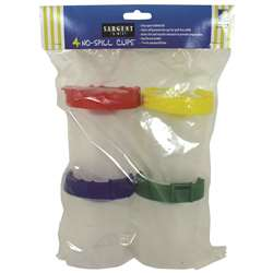 4Pk No Spill Cups with Poly Bag, SAR221604