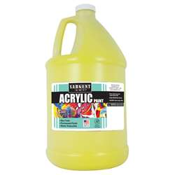 64Oz Acrylic - Yellow By Sargent Art