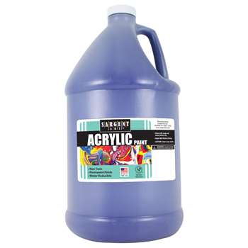 64Oz Acrylic - Blue By Sargent Art