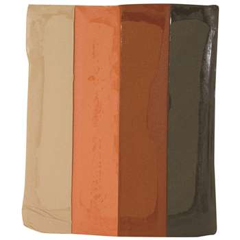 Sargent Art Modeling Clay Earth Tone Colors By Sargent Art