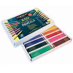 Sargent Art Colored Pencils 250/Pk By Sargent Art