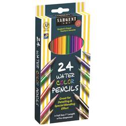 24Ct Sargent Watercolor Pencil 7 In By Sargent Art