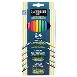 Sargent Art Colored Pencils 24/Set By Sargent Art