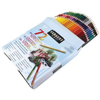 Sargent Art Colored Pencils 72 Colors By Sargent Art