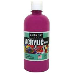 16Oz Acrylic Paint - Magenta By Sargent Art