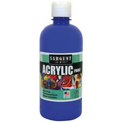 16Oz Acrylic Paint - Blue By Sargent Art