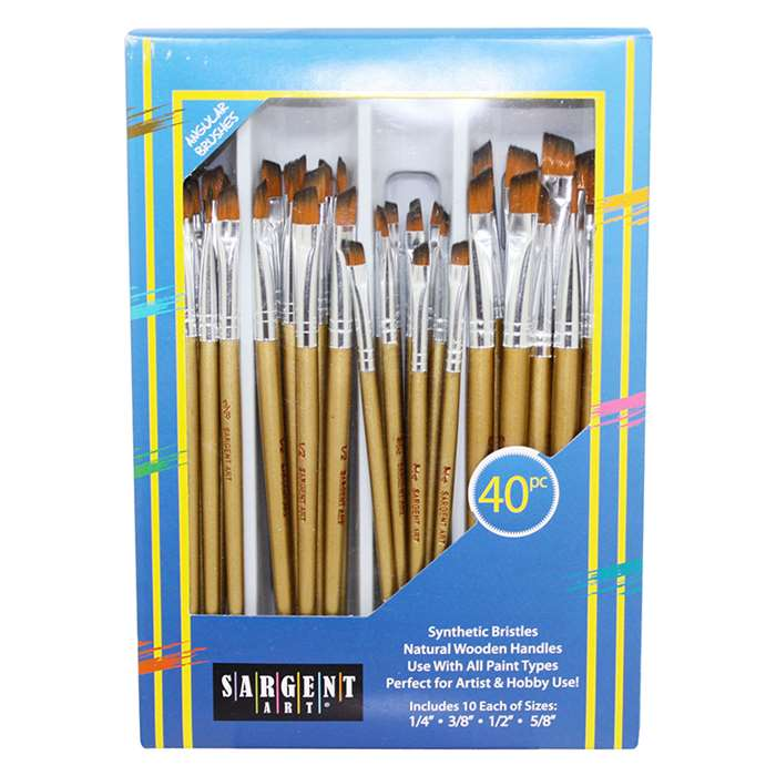 Brush Angular Set 40 Ct, SAR563104