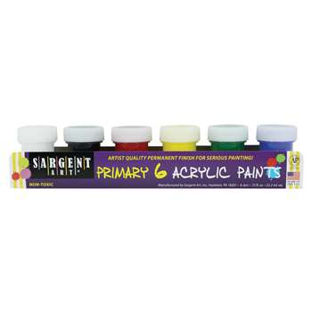 Acrylic Paint Set By Sargent Art