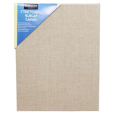Stretched Canvas 11x14 Burlap, SAR902027