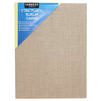 Stretched Canvas 9x12 Burlap, SAR902028