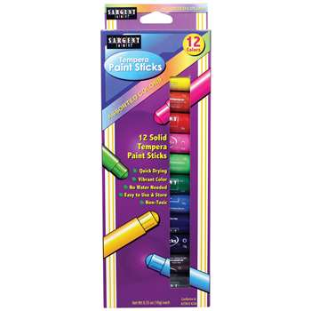 Tempera Stick 12Ct Pack, SAR932112