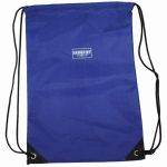 Drawstring Backpack Plain Royal Blu, SAR985065