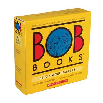 Bob Booksword Family Set Of 3 By Scholastic Books Trade