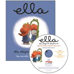 Ella The Elegant Elephant Carry Along Book & Cd By Scholastic Books Trade