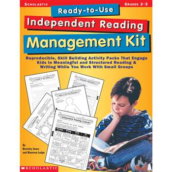 Ready-To-Use Independent Reading Management Kit Gr 2-3 By Scholastic Books Trade