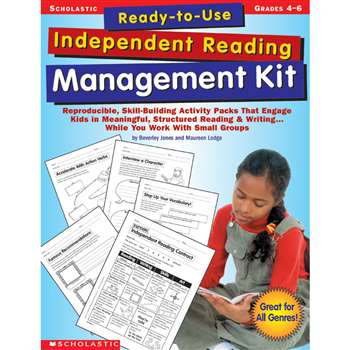 Ready-To-Use Independent Reading Management Kit Gr 4-6 By Scholastic Books Trade